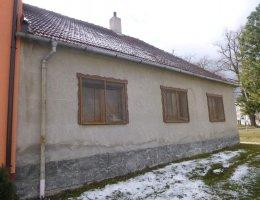 Podíl na rodinném domě v obci Budišov, okr. Třebíč