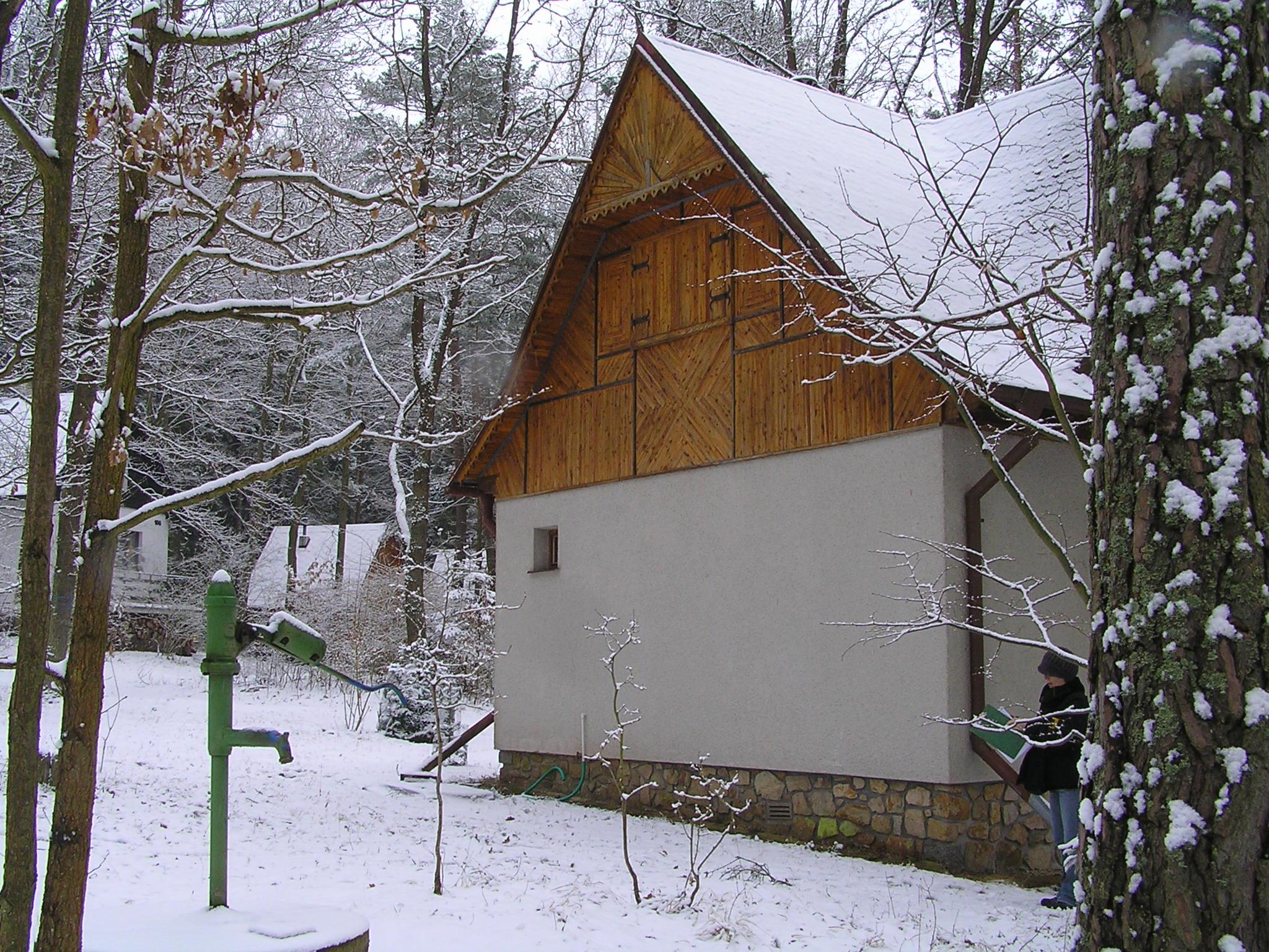 Rekreační chata s garáží v obci Oslov