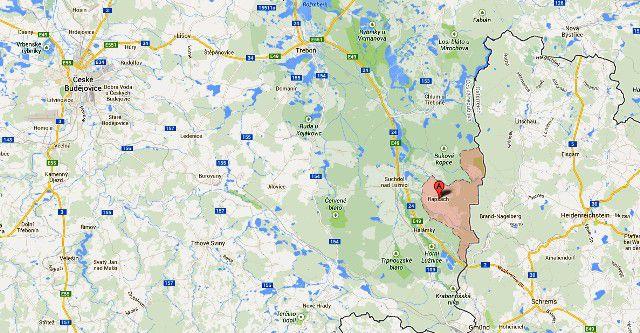 Podíly pozemků v obci Rapšach