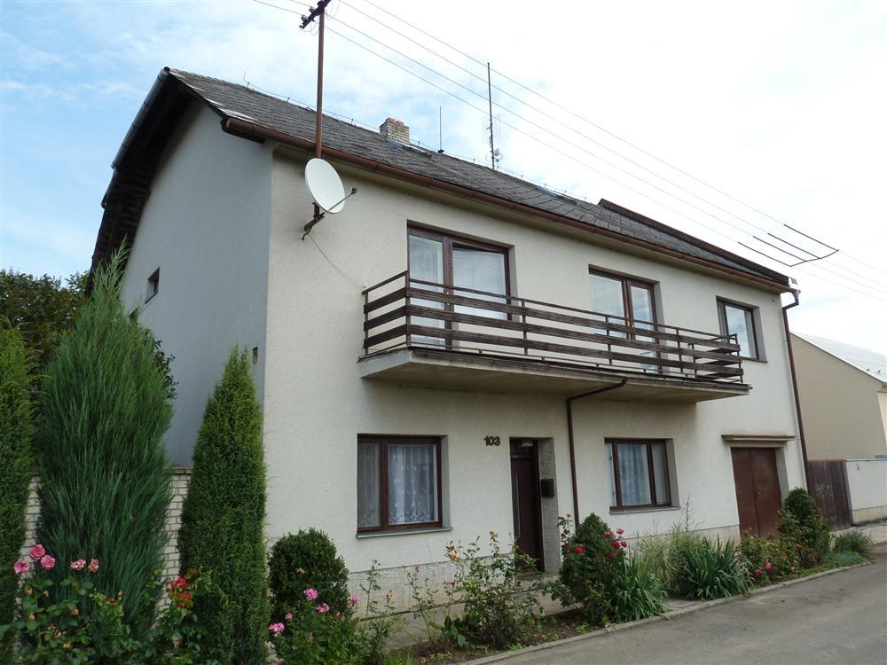 RD v obci Říkovice