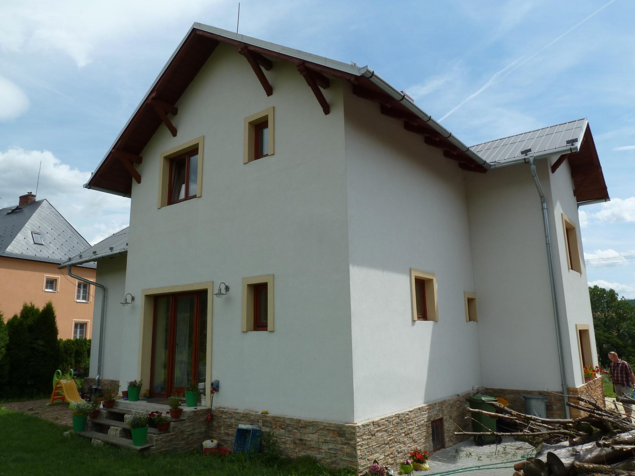 Zrekonstruovaný rodinný dům v Krnově - INSOLVENCE
