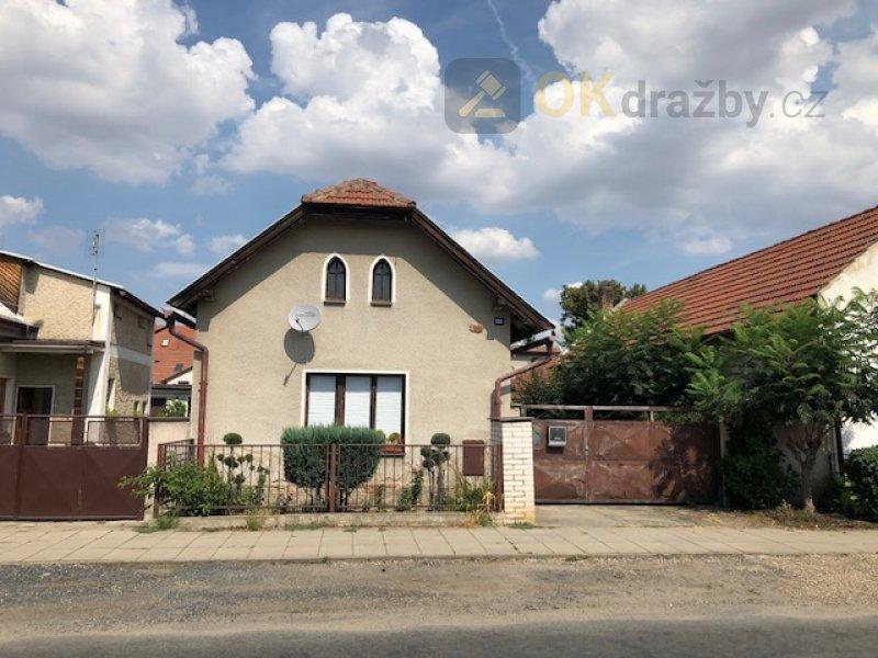 Dražba RD v Lužec nad Vltavou, okres Mělník