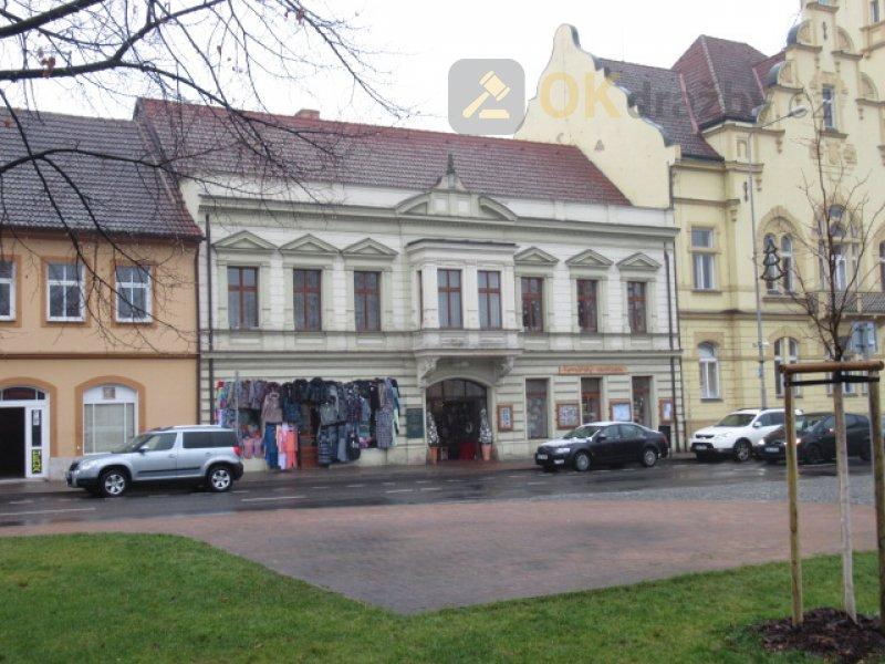Dražba řadového domu ve SJM, obec Lovosice, okres Litoměřice
