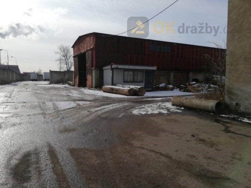 Dražba průmyslového areálu - bývalé
