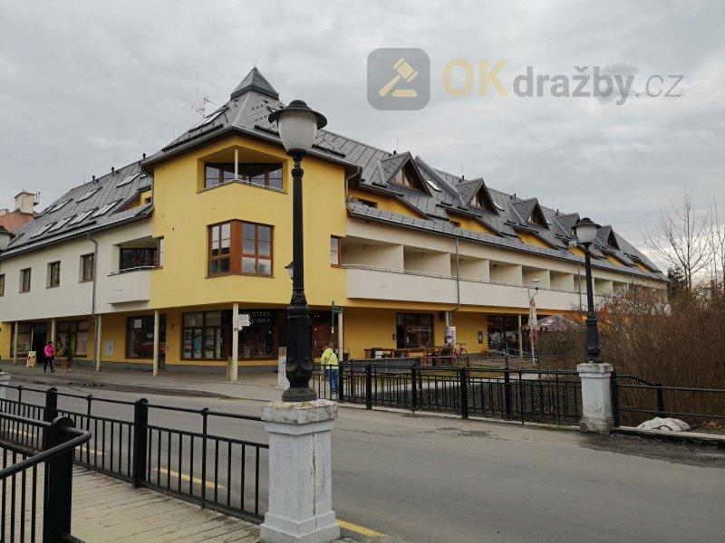 Dražba bytu 2+kk v obci Velké Losiny okres Šumperk