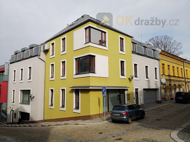 nebytové prostory o výměře 101,10 m2 v obci Šumperk  (bývalá kavárna)