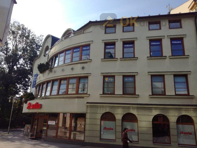 ordinace lékaře o výměře 66,62 m2 a kanceláře o výměře 130,99 m2v obci Šumperk