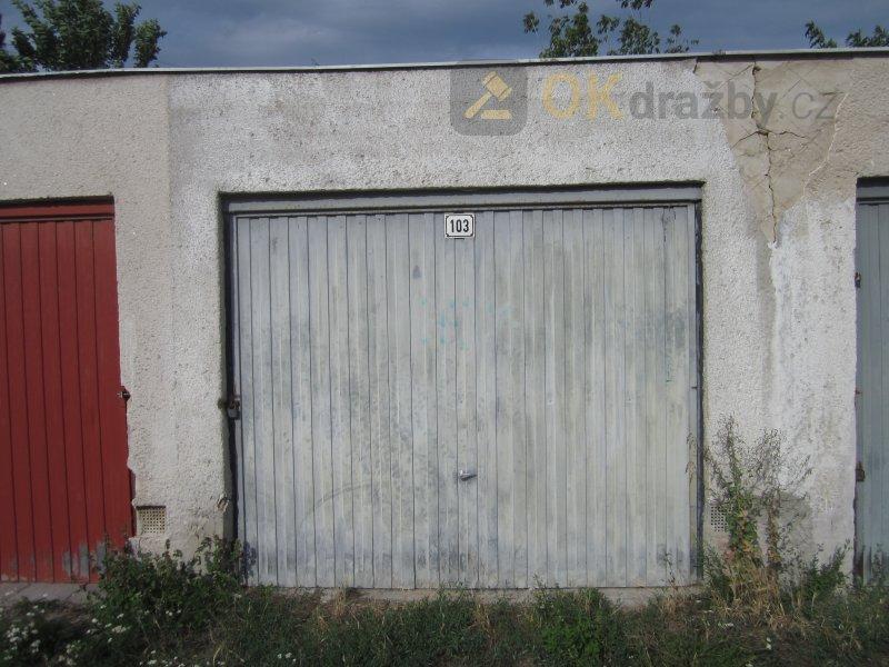 1/2 garáže v obci Mikulov, k.ú. Mikulov na Moravě, okres Břeclav