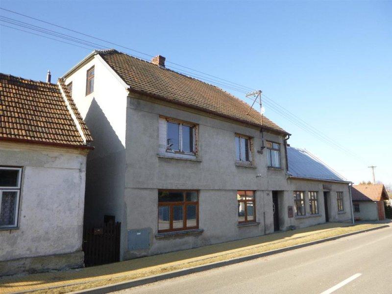 Rodinný dům v obci Brodek u Konice, okr. Prostějov