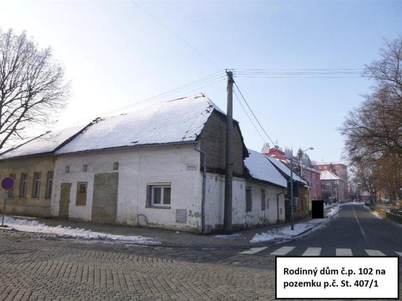 Rodinný dům v obci Kojetín, okr. Přerov