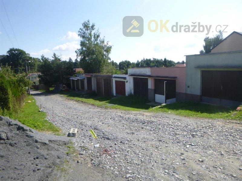 Garáž v obci Rýmařov, okr. Bruntál