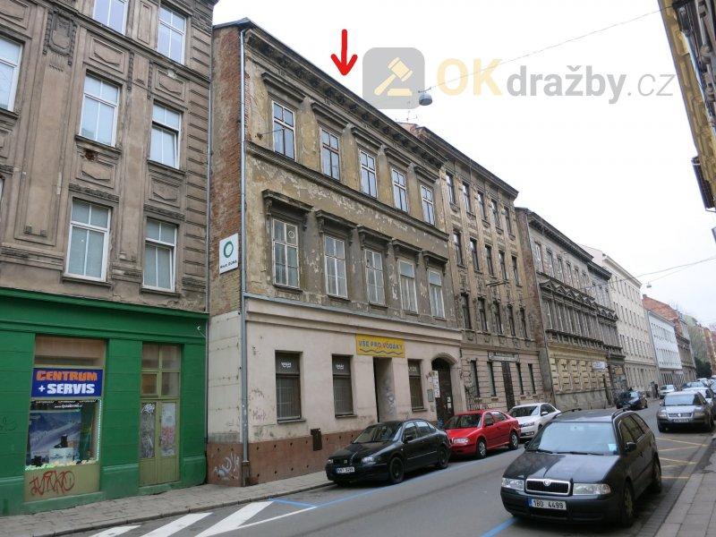 Dražba činžovního domu v centru Brna