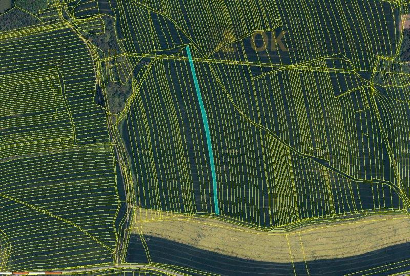 Dražba podílu 1/2 orné půdy Boršice u Buchlovic