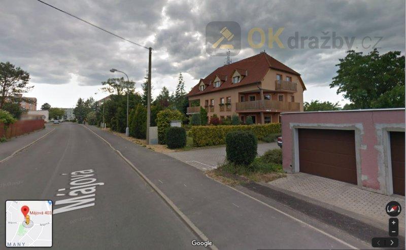 Dražba A) spol. podíl 1/2 bytový dům B)  zahrada v obci Františkovy Lázně okres Cheb