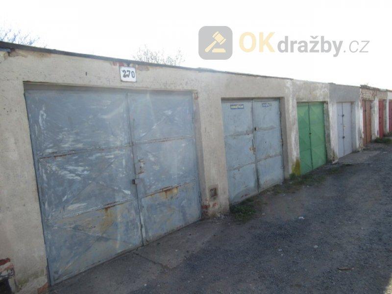 Dražba garáže v obci Postoloprty okres Louny