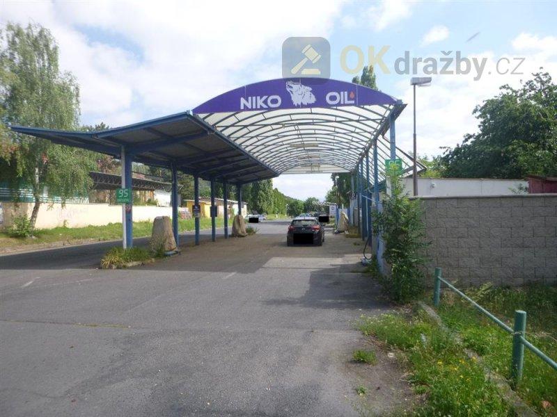 3. KOLO - prodejna čerpací stanice v Mostě, okr. Most