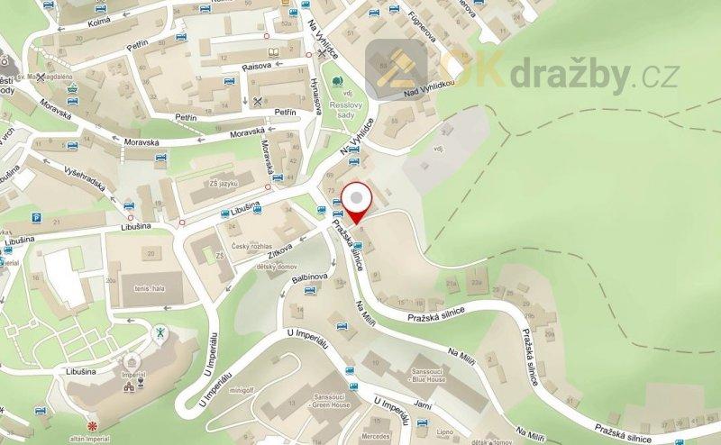 Dražba bytu o velikosti 5+1 v Karlových Varech