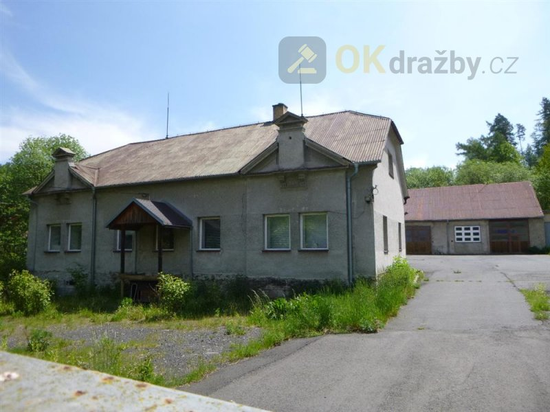 Dražba komerčního areálu v obci Horní Benešov okres Bruntál