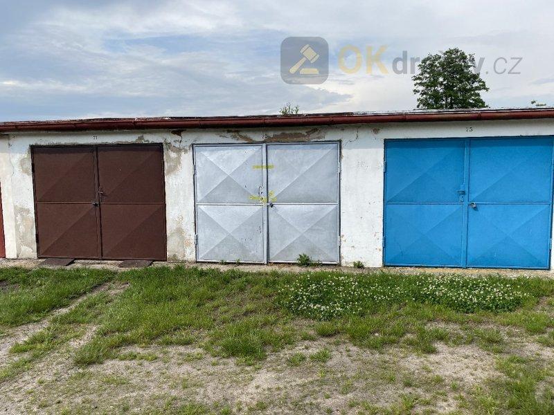 Dražba podílu 1/2 garáž, Nový Bydžov, okr. Hradec