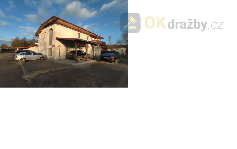 Dražba víceúčelového objektu v obci Slaviboř, okr.