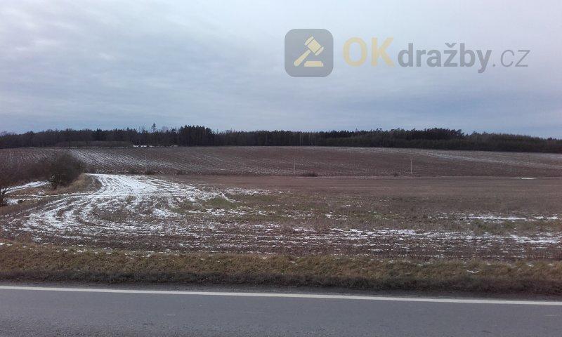 Podíl na zemědělských pozemcích - Březnice u