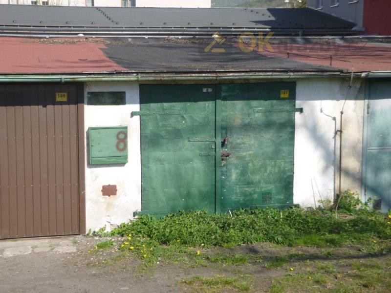 Dražba garáže v Děčíně