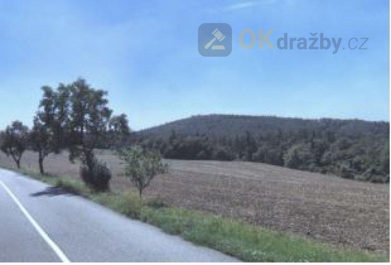 Dražba v podílu 1/5 orné půdy v obci Lažánky