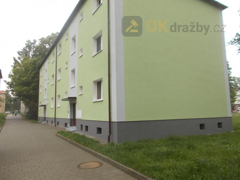Dražba bytu 2+1 obec Ostrov okres Karlovy Vary