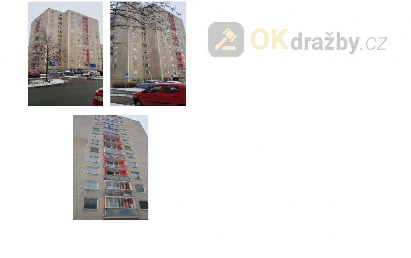 Dražba bytu 1+1 v Pardubicích, okr. Pardubice
