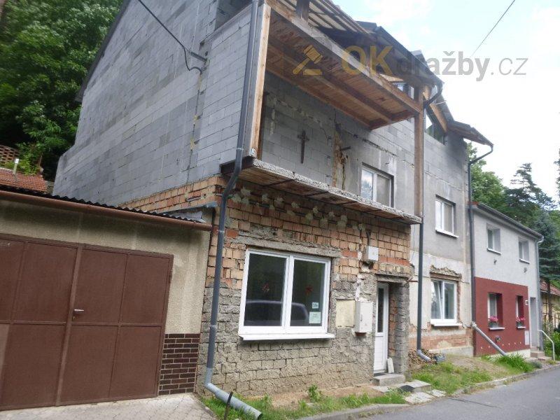 Rodinný dům v obci Lysice, okr. Blansko